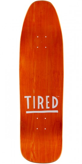 Tired Lowercase Log on Stumpnose Skateboard Complete - 9.00""