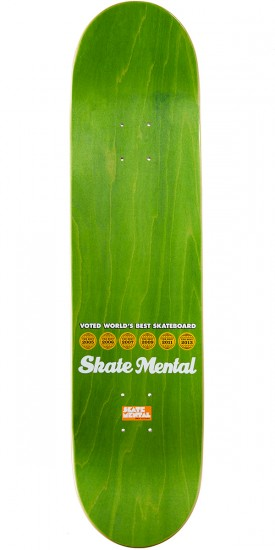 Skate Mental Curtin Roast Beef Curtins Skateboard Complete - 8.00""