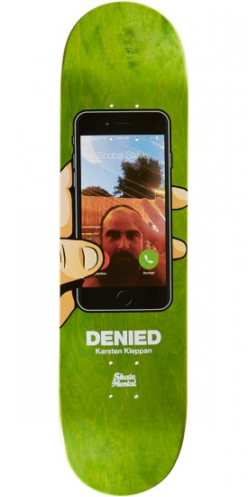 Skate Mental Kleppan Denied Skateboard Deck - 8.125""