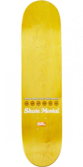 Skate Mental Plunket Craft Beerd Skateboard Deck - 8.25""