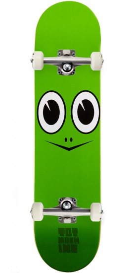 """Toy Machine Turtle Face Skateboard Complete - 7.50"""""""