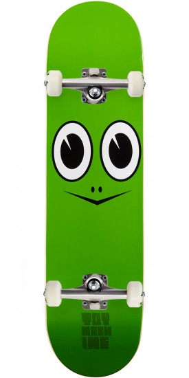 Toy Machine Turtle Face Skateboard Complete - 7.83""