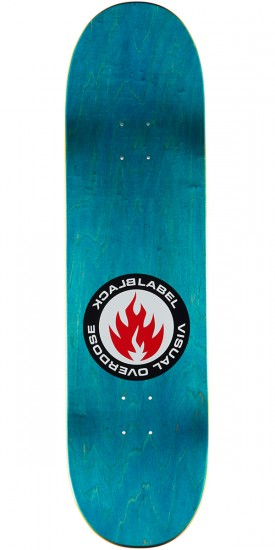 Black Label Jason Adams Visual Overdose Skateboard Complete - 8.68""