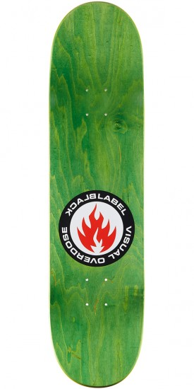 Black Label Chris Troy Visual Overdose Skateboard Complete - 8.25""