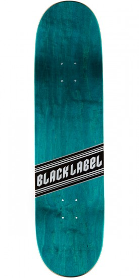 "Black Label Top Shelf Metal Flake Skateboard Complete - 8.38"" - Red"