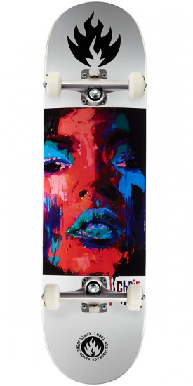 Black Label Chris Troy Dirty Girl Skateboard Complete - 8.50""