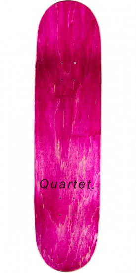 Quartet Crack Raider Skateboard Deck - 8.25""