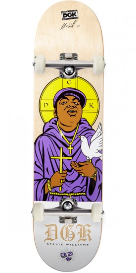 DGK Saints Williams Skateboard Complete - 7.90""