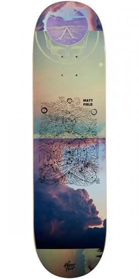 The Killing Floor Be Here Now Field Skateboard Deck - 8.38""