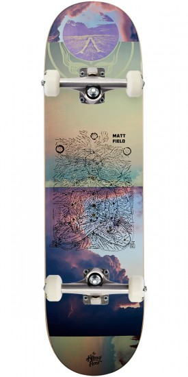 The Killing Floor Be Here Now Field Skateboard Complete - 8.38""