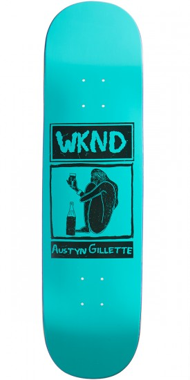 WKND Gillette Shy Cheers Skateboard Deck - 8.25""