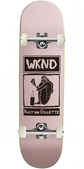 """WKND Gillette Shy Cheers Skateboard Complete - 8.50"""""""