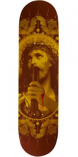 """Skate Mental Oh My Lord Skateboard Deck - 8.125"""" - Yellow"""