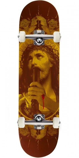 """Skate Mental Oh My Lord Skateboard Complete - 8.125"""" - Yellow"""