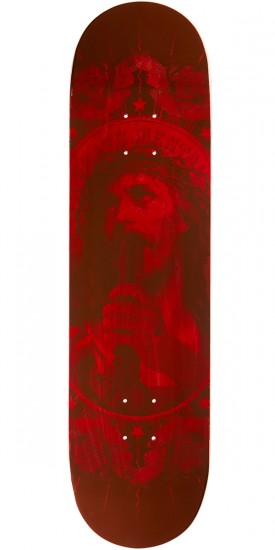 """Skate Mental Oh My Lord Skateboard Deck - 8.125"""" - Red"""