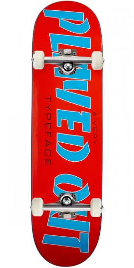 Friendship Played Out Skateboard Complete - 8.50""