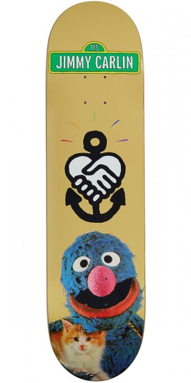 Friendship Grover Skateboard Deck - 8.10""