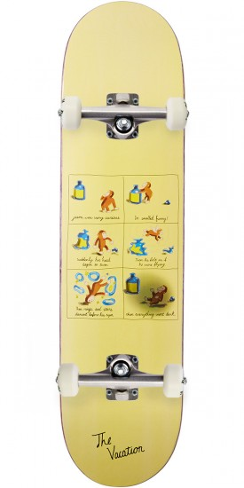 Vacation Spivey Curious Jason Skateboard Complete - 8.00""