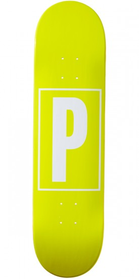 Preservation Logo Skateboard Deck - Yellow - 8.00""