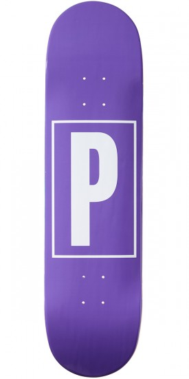 Preservation Logo Skateboard Deck - Purple - 8.25""