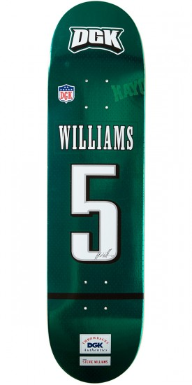 DGK Throwback Williams Skateboard Deck - 7.90""