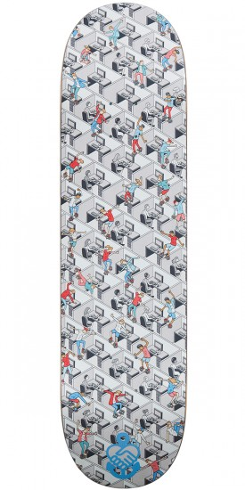 Friendship Gleaming The Cubicle Skateboard Deck - 8.25""