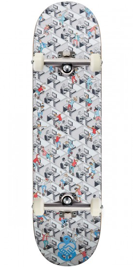 """Friendship Gleaming The Cubicle Skateboard Complete - 8.25"""""""