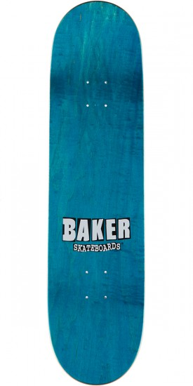 Baker Stacked Holo Skateboard Deck - Andrew Reynolds - Blue - 8.5