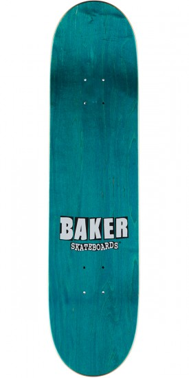 Baker Stacked Holo Skateboard Deck - Cyril Jackson - Red - 8.0