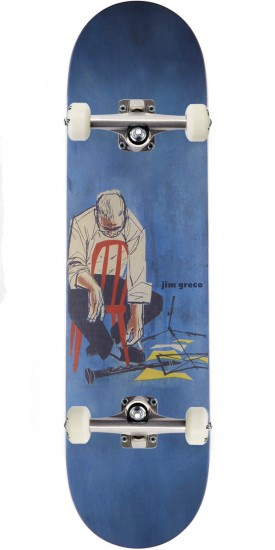 Deathwish The Blues Skateboard Complete - Jim Greco - 8.25