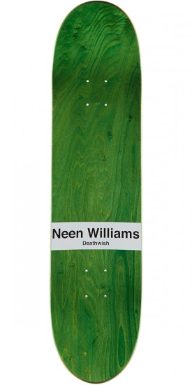 Deathwish Voltage Skateboard Deck - Neen Williams - 8.0