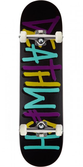 Deathwish Deathspray Skateboard Complete - Purple/Teal - 8.12