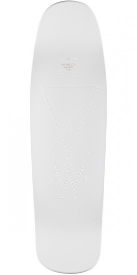 Welcome Face of a Lover on Slappy Slap Skateboard Complete - White Dip - 9.5