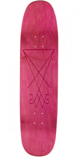Welcome Squid on Son of Moontrimmer Skateboard Deck - Lavender - 8.25