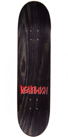 Deathwish Original G Skateboard Deck - White/Red Holo - 8.0