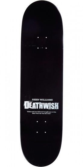 Deathwish Road You Followed Skateboard Complete - Williams - 8.3875