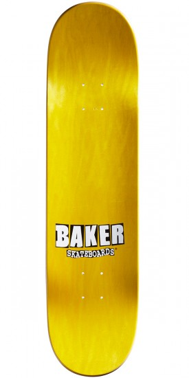 Baker Abstract Skateboard Deck - Herman - 8.0