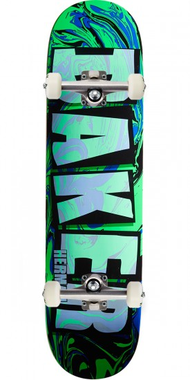 Baker Abstract Skateboard Complete - Herman - 8.0