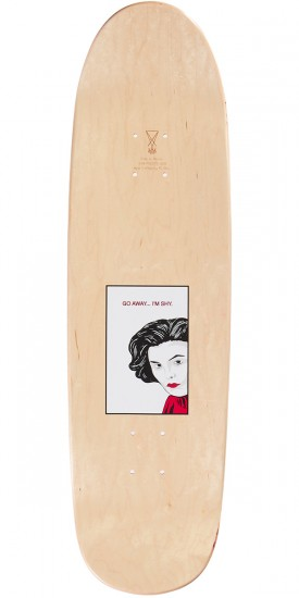 Welcome Audrey on Atheme Skateboard Deck - Red - 8.8
