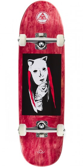 Welcome Audrey on Atheme Skateboard Complete - Red - 8.8