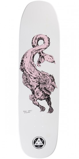 Welcome Cetus on Son of Moontrimmer Skateboard Deck - White Dip - 8.25