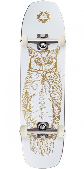 Welcome Heartwise on Vimana Skateboard Complete - White/Gold - 8.25