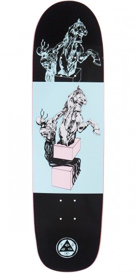 Welcome Hierophant on Son of Planchette Skateboard Deck - Black - 8.38