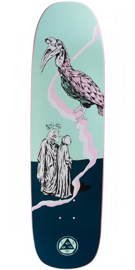 Welcome Inferno on Stonecipher Skateboard Deck - Ryan Lay - Teal - 8.6