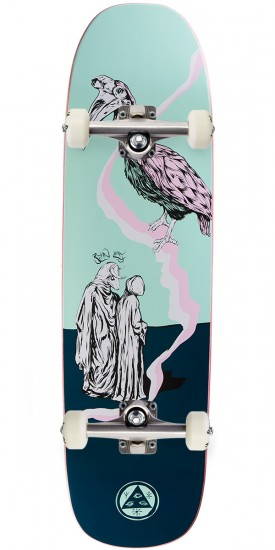 Welcome Inferno on Stonecipher Skateboard Complete - Ryan Lay - Teal - 8.6