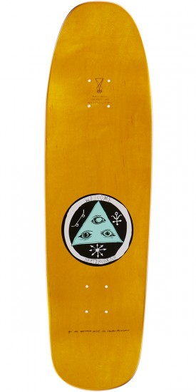 Welcome Magic Bunny on Magic Mace Skateboard Complete - Yellow - 9.0