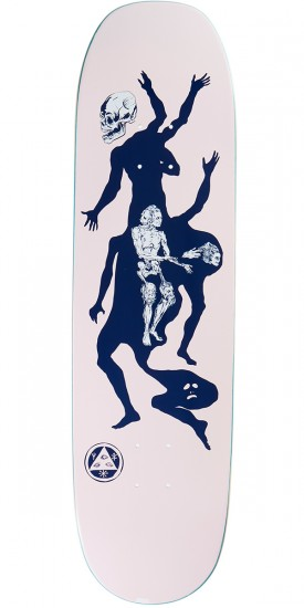Welcome The Magician on Moontrimmer 2.0 Skateboard Deck - Pink - 8.5
