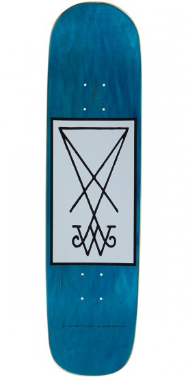 Welcome Stoker on Yung Nibiru Skateboard Complete - Blue - 8.25