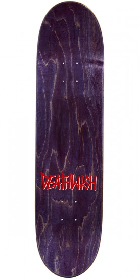 Deathwish Original G Skateboard Deck - Blue Metallic - 8.0