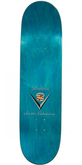 Deathwish Classic Caddy Skateboard Complete - Jim Greco - 8.5